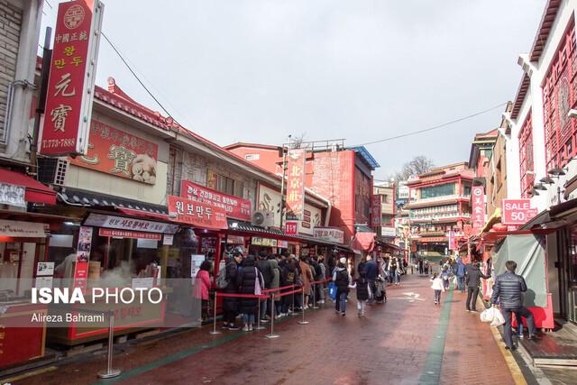 گشتی در محله چینیها زیر سایه ویروس کرونا