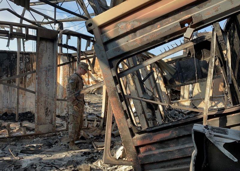 پنتاگون:حمله موشکی ایران ۳۴ سرباز آمریکایی را دچار ضربه مغزی کرده است