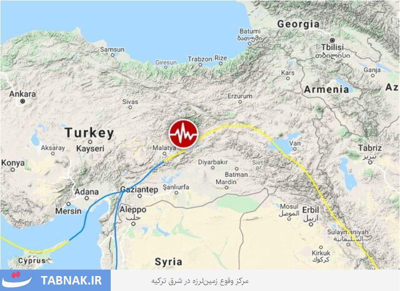 آخرین آمار خسارات و قربانیان زلزله شرق ترکیه