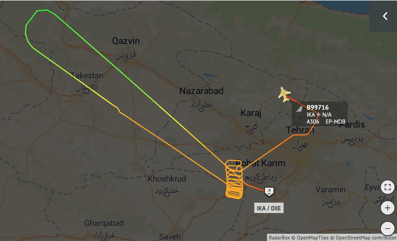 اعلام وضعیت اضطراری در فرودگاه امام خمینی(ره)+تکمیلی