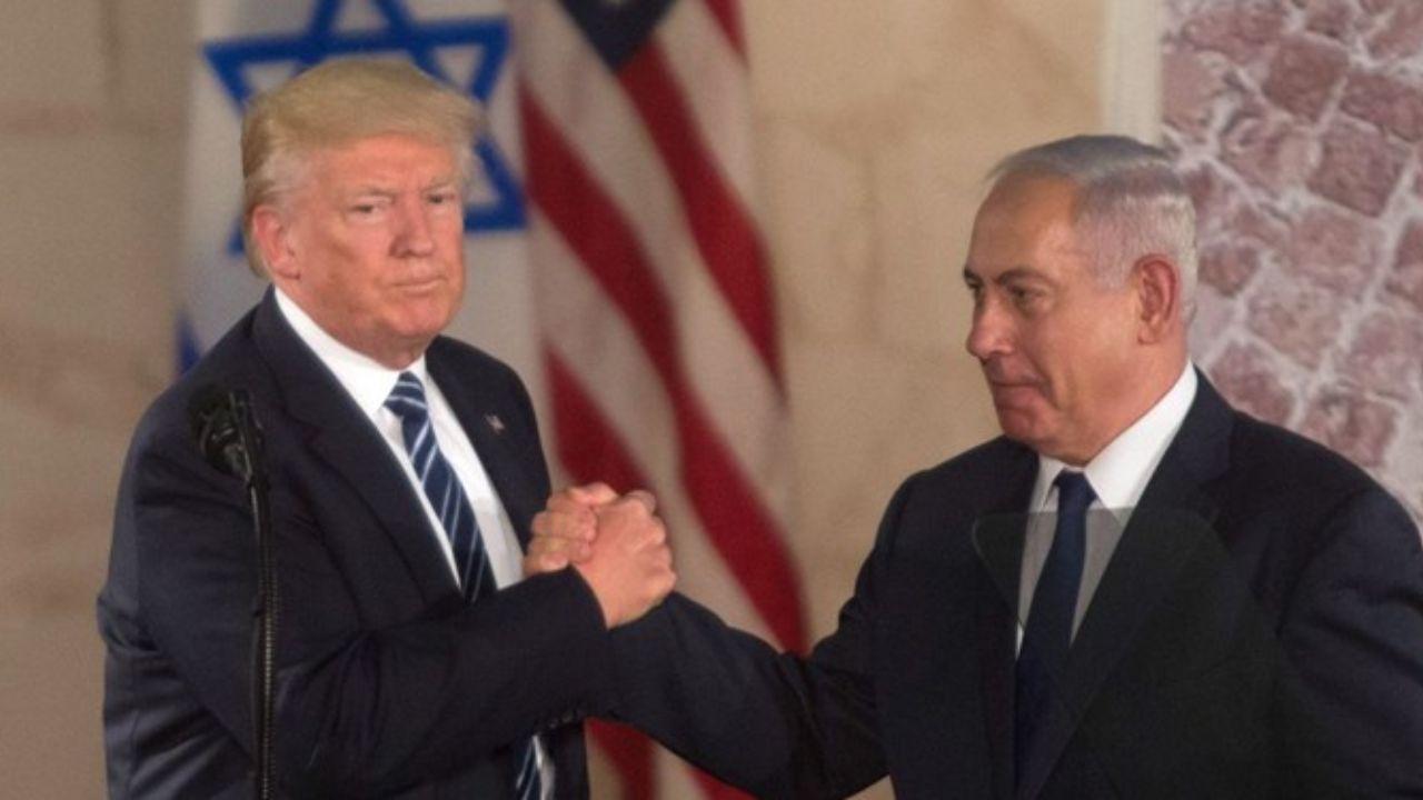 ترامپ: اورشلیم (قدس) پایتخت تقسیمناپذیر اسرائیل باقی میماند/ اراضی فلسطینیها دو برابر میشود/ فلسطینیان 4 سال فرصت دارند تا جایی که برای کشور جدیدشان در نظر گرفته شده را تحویل بگیرند/ نتانیاهو: این طرح حاکمیت اسرائیل بر دره اردن و دیگر مناطق راهبردی یهودا و سامره (کرانه باختری) را به رسمیت شناخته/ این طرح بسیاری از نقاطی را که در تورات به آنها اشاره شده، به عنوان بخش ثابت اسرائیل به رسمیت شناخته/این طرح مرز شرقی اسرائیل را به رسمیت میشناسد/ این طرح خواهان خلع سلاح حماس و حذف تسلیحات از غزه است