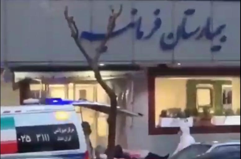 ماجرای انتقال بیمار مشکوک به کرونا به در فرمانیه