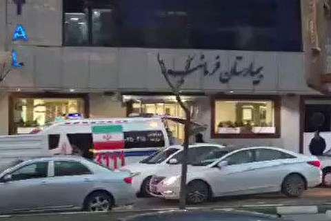 بیمار مشکوک به کرونا در فرمانیه تهران