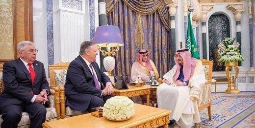 در دیدار پمپئو با شاه عربستان چه گذشت؟