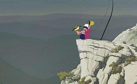 انیمیشن کوتاه ماهیگیری در هوا