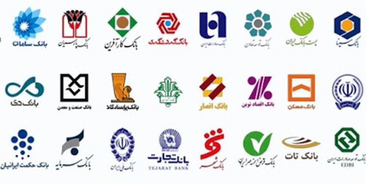 نتیجه تصویری برای بانک ها + تابناک