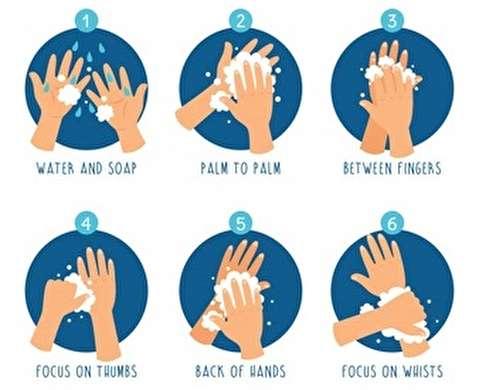 آموزش شستوشوی دستها به شیوه ابتکاری پرستار ایرانی