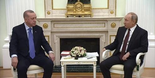 اردوغان و پوتین درباره وضعیت ادلب سوریه، دیدار کردند