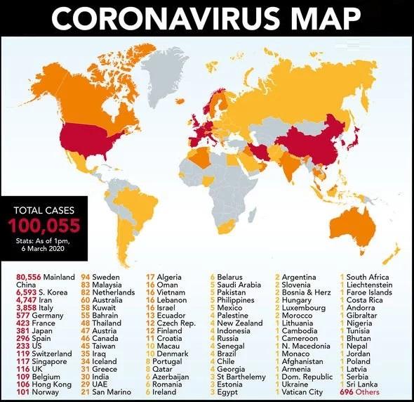 ۸ نکته جدید و جالب توجه در آمار شیوع ویروس کرونا در ۲۴ ساعت گذشته