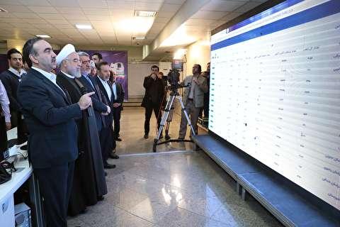 روحانی: انتخابات 1400 الکترونیکی باشد