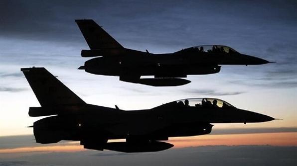 حمله گسترده جنگنده های آمریکا به مواضع حشدالشعبی در عراق