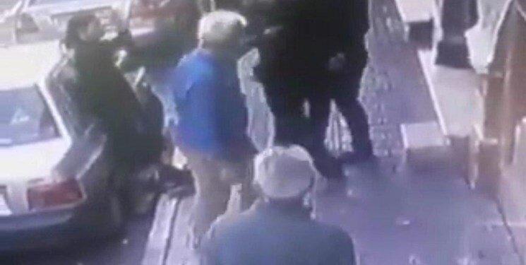 ابعاد تازه از فیلم ضرب و شتم یک زن در خیابان