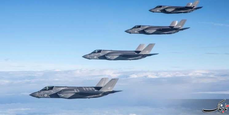 پرواز گسترده جنگندههای آمریکا در مرز عراق و سوریه