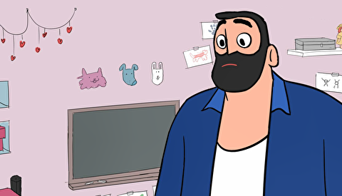 انیمیشن کوتاه بابا