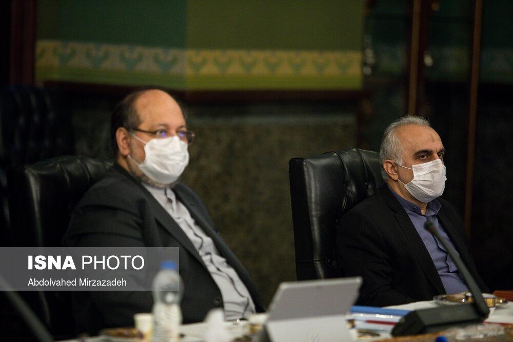 جلسه مشترک ستاد اقتصادی دولت با نمایندگان فعال اقتصادی