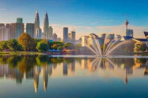 کوالالامپور از فراز آسمان