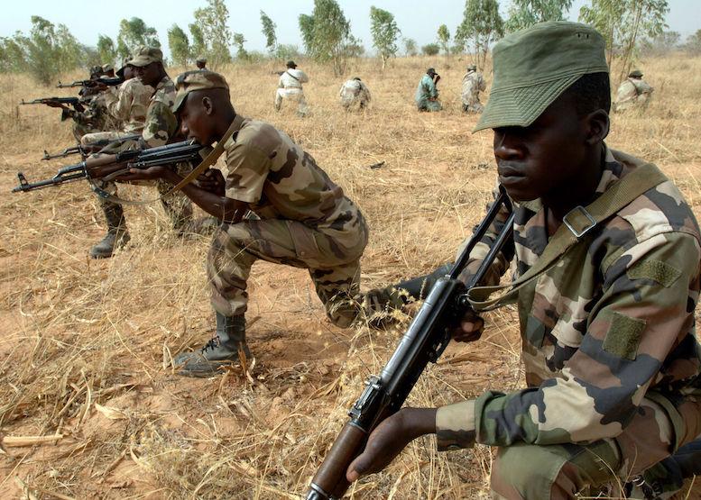 هلاکت ۱۲۰ تررویست در عملیات نیروهای نیجر و فرانسه