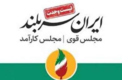 آمار نهایی انتخابات مجلس در تهران اعلام شد + اسامی/ هر 30 عضو «لیست وحدت» راهی مجلس شدند