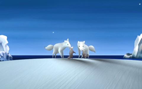 انیمیشن کوتاه روباه قطبی