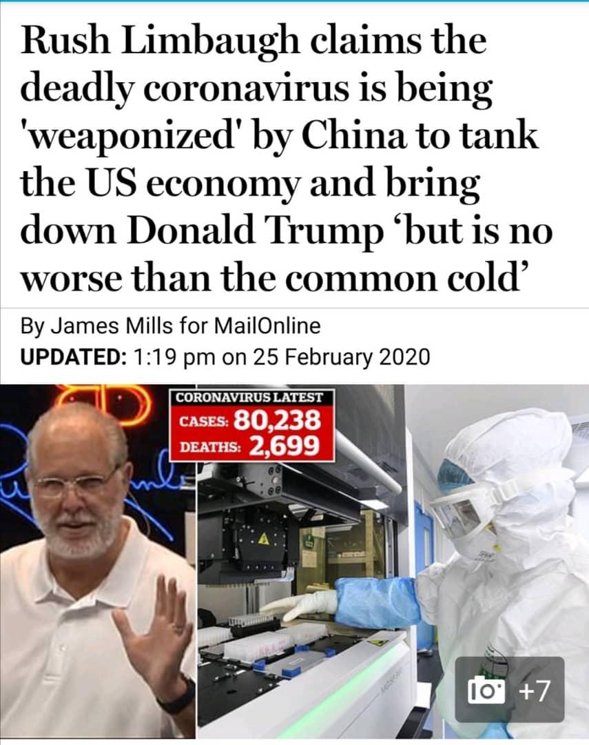 دعوای آمریکا و چین بر سر کرونا ادامه دارد/ چه کسی کرونا را ساخته است!؟