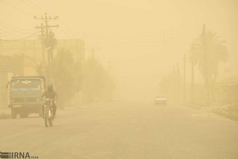 گردوخاک پس از باران مهمان خوزستان میشود