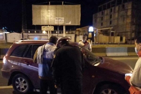 استقرار تیمهای امدادهلالاحمر گیلان در مبادی ورودی