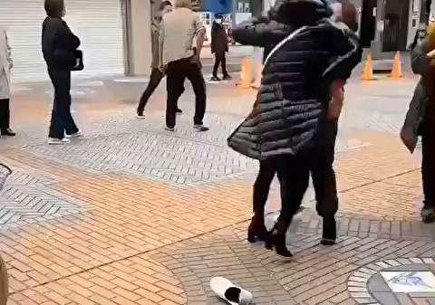 درگیری فیزیکی ژاپنیها بر سر ماسک!