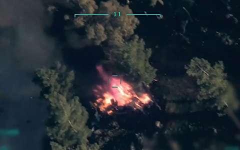 حملات هوایی ترکیه به ارتش سوریه با بازی کامپیوتری!