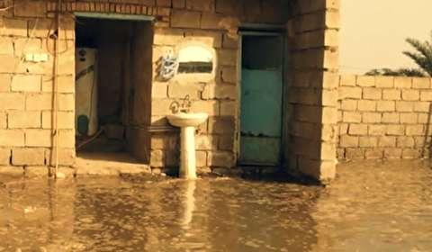 وضعیت عجیب سیلزدگان شعیبیه خوزستان