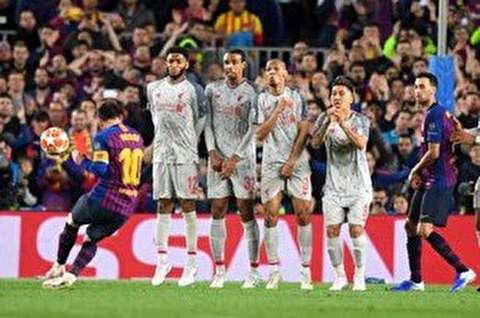گزیده بازی بارسلونا - لیورپول