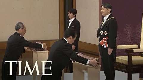 مراسم به تخت نشستن امپراتور ژاپن