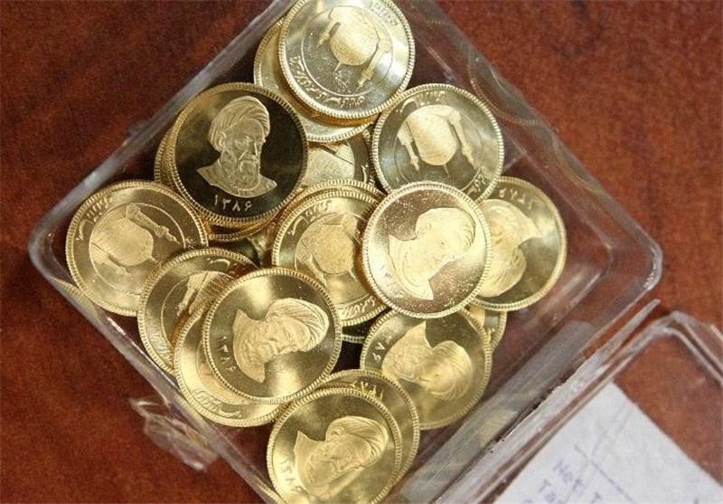 قیمت طلا و سکه تا ساعت ۱۷/ روند صعودی بهای سکه از ابتدای معاملات امروز/ حباب سکه ۵۹۰ هزار تومان