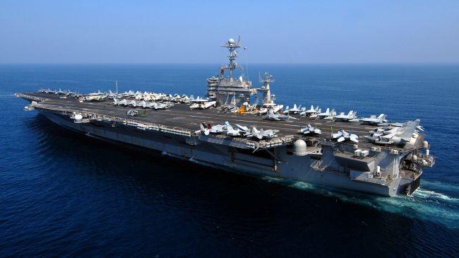 هدف از اعزام یگان بمب افکن و ناو هواپیمابر ارتش آمریکا به خاورمیانه چیست؟