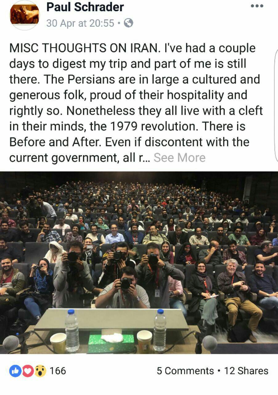 واکنش فیلمنامه نویس راننده تاکسی و گفت خشمگین پس از تجربه سفر به ایران