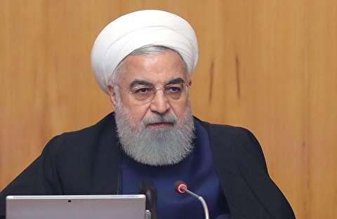 سخنان روحانی درباره توقف تعهدات ایران در برجام
