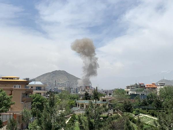 ۱۵ زخمی در انفجار مرکز کابل