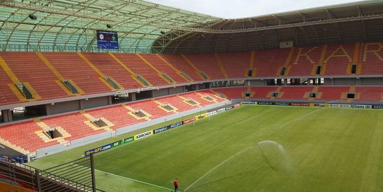 ورزشگاه کربلا توسط ایران ساخته نشده است