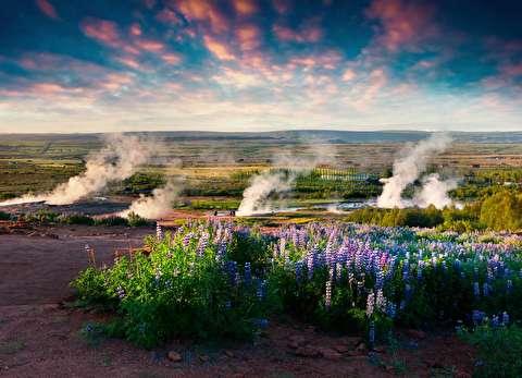 طبیعت ایسلند در قاب 4K