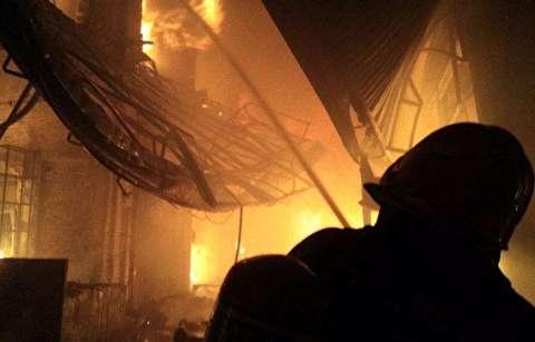 آتش سوزی بازار تبریز از ابتدا تا انتها