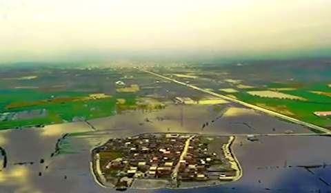 روستایی که تبدیل به جزیره شد