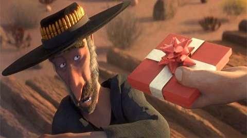 انیمیشن کوتاه به خاطر یک مشت هدیه