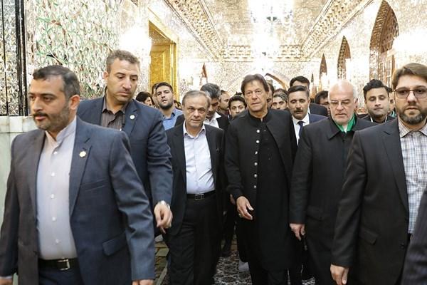 بازدید «عمران خان» از مزار «نادرشاه افشار» صحت ندارد