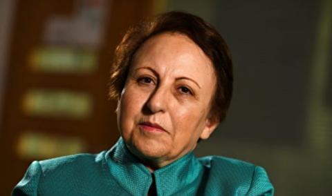 درخواست شیرین عبادی برای تحریم همهجانبه ایران
