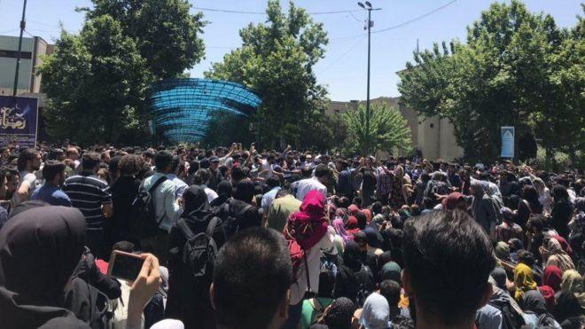 تنش در دانشگاه تهران با کلیدواژه حاشیه ساز!