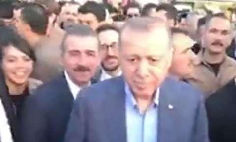درخواست یک ایرانی از اردوغان در استانبول
