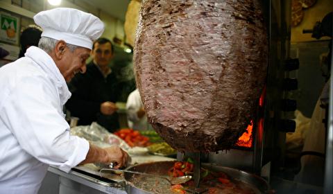 طرز تهیه دونر کباب گوشت