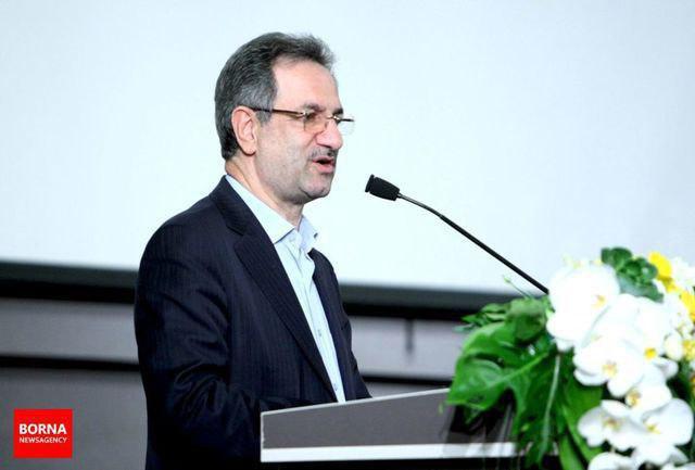 استاندار تهران در جشنواره ستارگان روابط عمومی