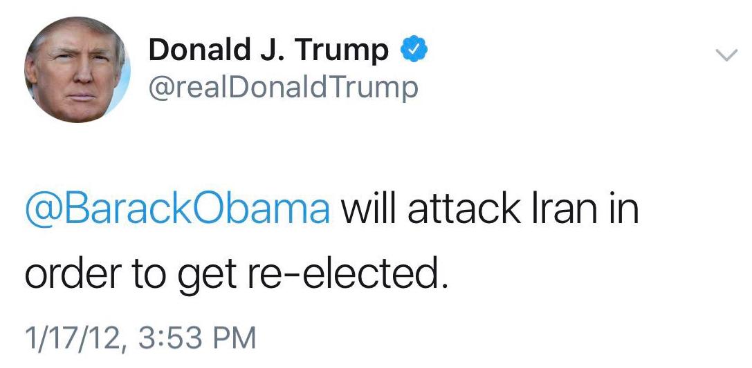 بازخوانی مواضع ترامپ درباره احتمال جنگ با ایران پیش از ریاستجمهوری