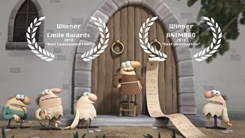 انیمیشن کوتاه داستان مارتین لوتر