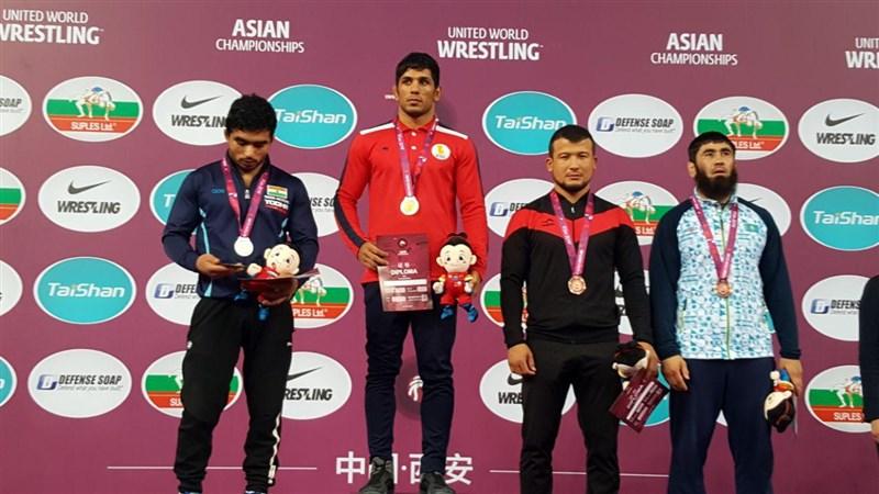 قهرمانی زودرس کشتی آزاد ایران درآسیا با ۷ فینالیست